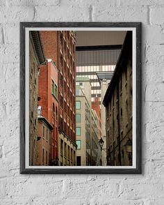 Multilayered Port City  Fine-Art Print on Hahnemühle Photo