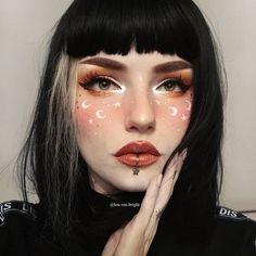 Perfect Makeup, Pretty Makeup, Makeup Looks, Punk Makeup, Eye Makeup, Hair Makeup, Goth Beauty, Hair Beauty, Morning Makeup
