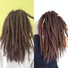 8 months of dreadlocks!