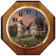 "Thomas Kinkade 10"" Wood Wall Clock - ""Victorian Light"" Thomas Kinkade,http://www.amazon.com/dp/B002JINYC2/ref=cm_sw_r_pi_dp_NJcAsb1Z03FSYE34"