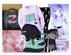 """""""pastel goth"""" by sugerkitten ❤ liked on Polyvore featuring Reverse, As Is, Models Own and Ardency Inn"""