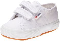 Superga Kids Unisex 2750 JVEL Classic (Toddler/Little Kid) White Sneaker 25 (US 8.5 Toddler) M