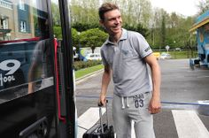 Gallery: 2014 Vuelta al Pais Vasco, stage 2 - Tony Martin was all smiles when it was time to pack in for the post-stage bus ride Tuesday. Photo: Tim De Waele | TDWsport.com