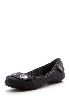 Dr. Scholl's Fielding Slip-On Flat. a lot like the last, but for those days when you need a quirkier button