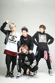 b-joo hojoon hansol xero ♥