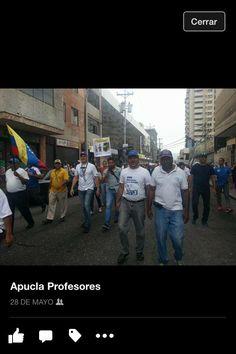 via @fbravobrito: Protesto pq #SoyProfesorUniVE jubilado y no puedo cubrir la canasta básica @FAPUV    #Lara