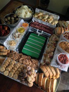 Football baby, football fever, football season, game day snacks, game day f Game Day Snacks, Game Day Food, Party Snacks, Easy Healthy Breakfast, Breakfast Recipes, Vegetarian Breakfast, Football Food, Football Fever, Football Baby