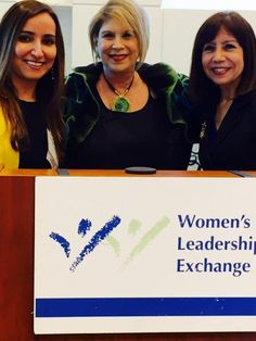 Attended the Women's Leadership Conference with founder Andrea March (middle) and friend Sunanda Chugh