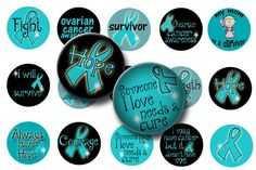 Think of all the awareness items you can create with these Ovarian cancer awareness bottle cap images. These 1 inch circle digital images are perfect for making bottle cap necklaces, necklaces, key chains, badge reels and more! Bottle Cap Magnets, Bottle Cap Crafts, Bottle Caps, Bottle Cap Jewelry, Bottle Cap Necklace, Hama Beads Minecraft, Perler Beads, Image Key, Fairy Coloring Pages