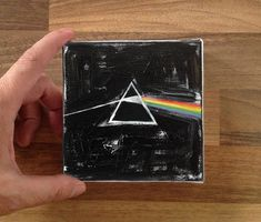 Tiny painting / Pink Floyd album cover redraw /