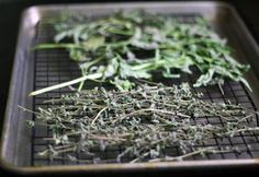 In many parts of the country, the beginning of August is the time to harvest and dry herbs. Many leafy herbs have budded and are ready to flower... the perfect time to harvest for drying.