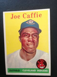 Baseball Trading Card Topps 1958 Cleveland Indians