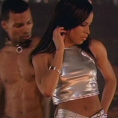 Outfit 😩❤ #Aaliyah #4PageLetter #AaliyahHaughton