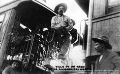 All things Mexico. Y Villa se subió al tren / Exposición del Museo de los Ferrocarrileros hasta el 30 de Abril. Fotos:© Archivo Casasola