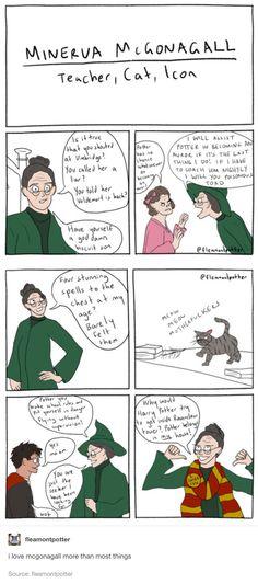 Minerva McGonagall's comic