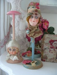 .I love these doll/hat stands :-)