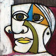 Pablo Picasso 'Retrato De Dora Maar' 1936