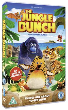 The Brick Castle: The Jungle Bunch Movie DVD Review and Giveaway (2 winners) ...
