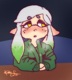 Leave me alone. Callie And Marie, Squid Games, Super Mario, Call Me, Hanging Out, Nintendo, Sisters, Animation, Fan Art