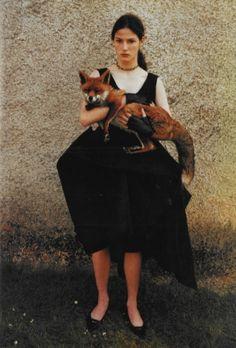 witchesandslippersandhoods:    Scotland: The Castle of Park in Glenluce photographed by Juergen Teller, Vogue Italia November 1997