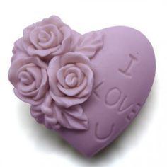 Molde para #hacerjabon Corazón I love you. Precioso corazón con el que podrás hacer jabones, ideal para detalles de boda, disponible en Gran Velada. #Diy
