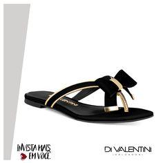 Rasteira Di Valentini na loja Modinha Calçados . ♥