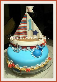 Nautical cake by Homade Sweet Love on Cakes Decor