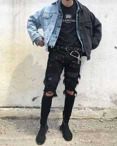 3 All Time Best Cool Tips: Urban Fashion Menswear Guys urban wear kids.Urban All Time Best Cool Tips: Urban Fashion Menswear Guys urban wear kids. Urban Style Outfits, Mode Outfits, Grunge Outfits, Outfits For Teens, Fashion Outfits, Fashion Ideas, 90s Grunge, Fashion Shoot, Fashion Styles