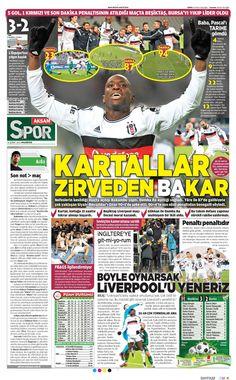 Beşiktaş Manşetleri(16/02/2015)