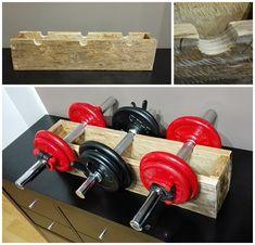 fitness  diy home gym