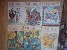 Detský časopis Ohník