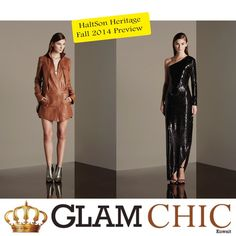 Glamorously Chic: Halston Heritage Fall 2014 Preview (Before it hits...