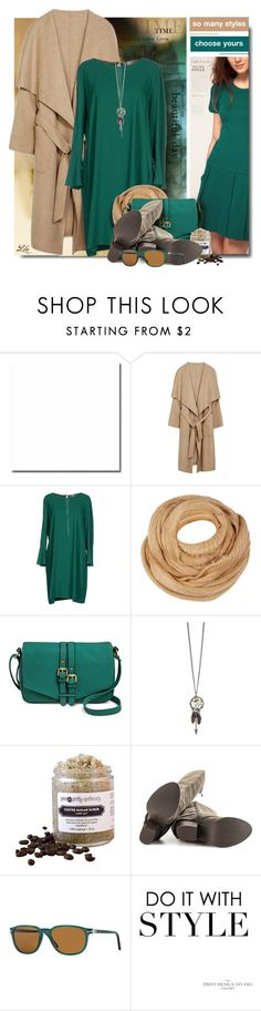 """""""Warm Up: Long-Sleeve Dresses II"""" by fashion-architect-style ❤ liked on Polyvore featuring Alexia Ulibarri, Marella, Merona, Fergie and Persol"""