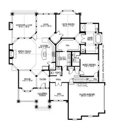 18 Best Home Plans 3000 3500 Sf Images In 2016