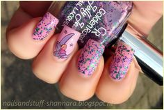 Nails and Stuff: Golden Rose Jolly Jewels 105 nail art.