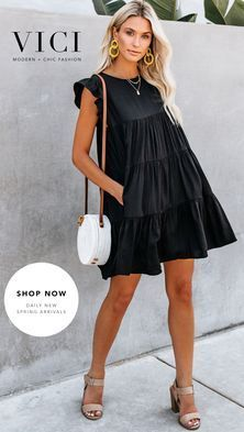 Chic outfit idea to copy ♥ For more inspiration join our group Amazing Things ♥ You might also like these related products: - Vests ->. Cute Dresses, Casual Dresses, Short Dresses, Fashion Dresses, Modest Fashion, Look Boho, Look Chic, Cool Outfits, Summer Outfits