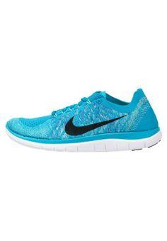 Köp Nike Performance FREE 4.0 FLYKNIT - Löparskor - blue lagoon/black/game royal för 1295,00 kr (2015-09-29) fraktfritt på Zalando.se