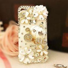 FancyG Luxury 3D Bling Crystal Cinderella's Pumpkin Cart Stone Case for iphone 5 + Free Magic Hair Stabilizer X1 Set by FancyG, http://www.amazon.com/dp/B00A63KYWU/ref=cm_sw_r_pi_dp_Ic.Irb1NT8068