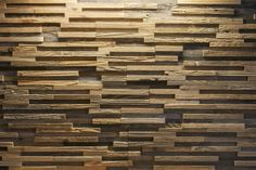 3d wall panel in Oak . Such a great way to bring a touch of wood in to you home or business.