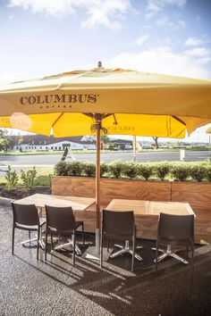 Available with any table top Commercial Furniture, Al Fresco Dining, Outdoor Furniture, Outdoor Decor, Hospitality, Indoor, Base, Patio, Top