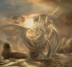 Golden Egyptian Dragon