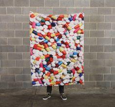 Pills Blanket from Beloved Shirts