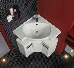 Corner Bathroom Sinks Creating E Saving Modern Design