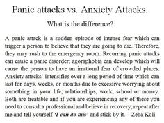 Understanding And Managing Anxiety Attacks (Video)  Learn more about anxiety attacks, their symptoms and what can be done to manage and prevent anxiety attacks