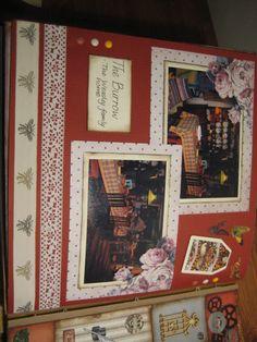 The Burrow home of the Weasleys Harry Potter scrapbook
