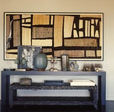 Modern Interior, Interior Architecture, Interior And Exterior, Modern Furniture, Interior Design, Console Styling, Living Styles, Eclectic Decor, A Table