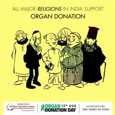 All Major Religions In India Support Organ Eye And Tissue - All major religions