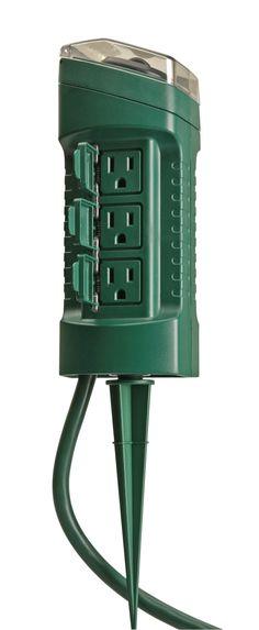 GE 6 Outlet Power Strip : Target
