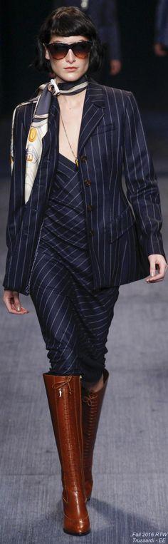 Fall 2016 Ready-to-Wear Trussardi