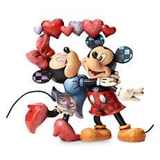 Minnie and Mickey Mouse ''Love Is in the Air'' Figure by Jim Shore